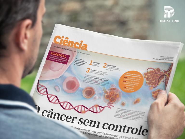 Especialista do Centro Paulista de Oncologia em destaque na matéria do Correio Braziliense